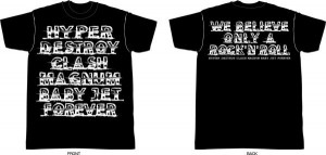 2013 goods HYPER T-shirt